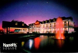 MIssissippi Tunica Harrah's Casino At Night 1996