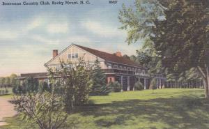Benvenue Country Club, Rocky Mount, North Carolina 1930-40s