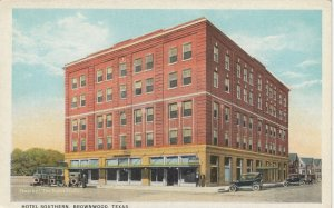 BROWNWOOD , Texas , 1910s ; Hotel Southern