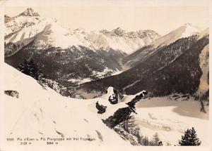 Switzerland Piz d'Esan u. Piz Fiergruppe mit Val Trupehum Mountains