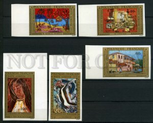 024200 Painting set IMPERF POLINESIA MNH#24200