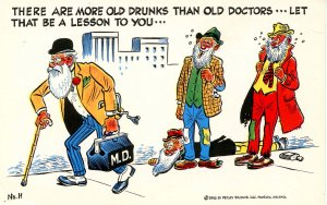 Humor - There are more old drunks…