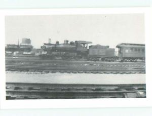 Pre-1980 This Is Not An Rppc BLACK-AND-WHITE OLD TRAIN AC7450