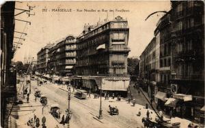 CPA MARSEILLE Rue Noailles et Rue des Feuillants (339666)