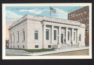WINCHESTER KENTUCKY UNITED STATES POST OFFICE VINTAGE POSTCARD KY.