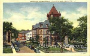 Hampshire County Court House Northampton MA Unused