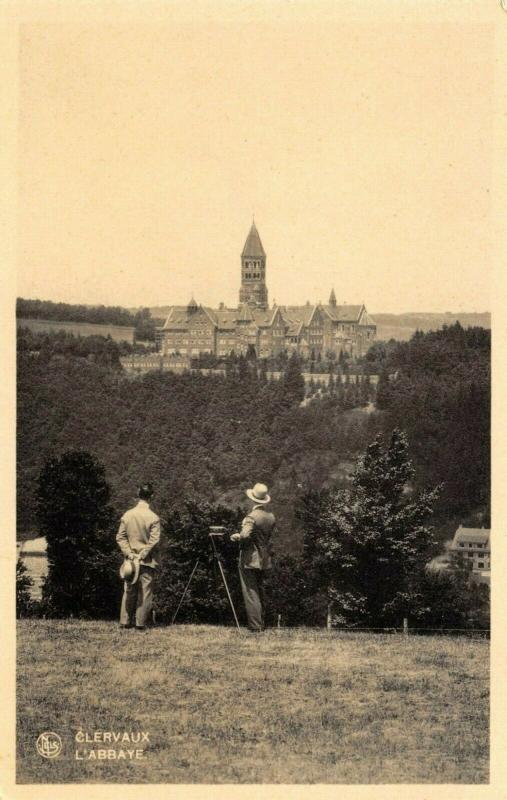 Vintage Luxembourg Postcard, Clervaux L'Abbaye Abbey 13R