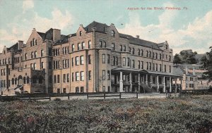 LPS75 Pittsburg Pennsylvania Asylum for the Blind Postcard