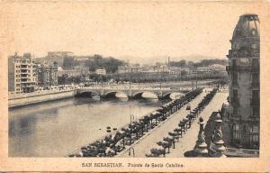 Spain San Sebastian Puente de Santa Catalina