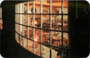 Fleetwood Pennsylvania~The Glockenspiel Restaurant~Thru Bay Window~1950s PC
