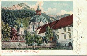Germany Grüsse aus Ettal bei Oberammergau 03.38