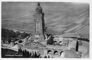 Kyffhaueser Denkmal Monument Statues Airview
