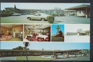 America Postcard - Marianis Motel & Restaurant, Santa Clara, California  RS20251