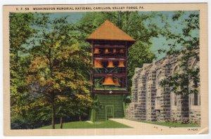 Valley Forge, Pa, Washington Memorial National Carillon