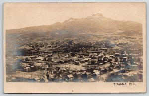 Trinidad Colorado~Birdseye Panorama~Homes Business~1905 Real Photo Postcard~RPPC