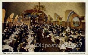 Old Heidelberg, Chicago IL USA Restaurant Old Vintage Antique Postcard Post C...