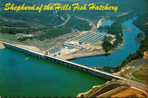 Arkansas Shepherd Of The Hills Fish Hatchery On The White River