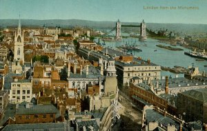 UK - England, London. View from Monument, Fish Street Hill
