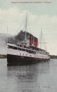 Niagara Navigation Co.'s Steamer Cayuga, PU-1912