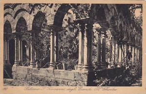 Palermo, Giovanni degli Eremiti, Il Chiostro, Sicilia, Italy, PU-1948