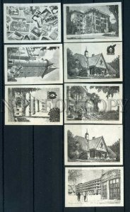 500690 HUNGARY attractions Vintage match labels