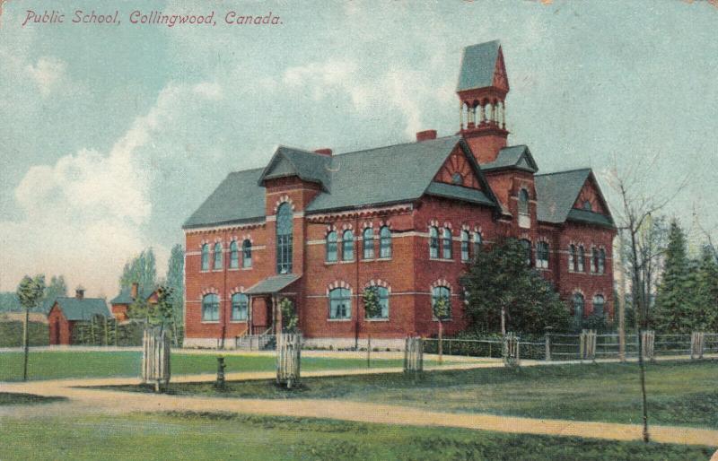 COLLINGWOOD , Ontario, Canada, 1914 ; Public School