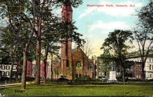 New Jersey Newark Washington Park