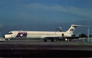 AOM French Airlines McDonnell Douglas MD-83 At Orly Airport Paris