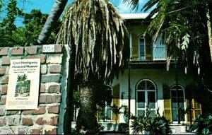 Florida Key West Ernest Hemingway House