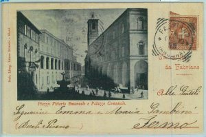 97391 - CARTOLINA d'Epoca -  ANCONA provincia  -  FABRIANO 1900