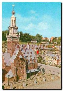 Postcard Modern Miniatuurstad Madurodam Den Haag Waaggebouw