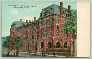 New Haven CT~Yale Univ~Divinity School~2nd Empire Architecture~Mansard Roof 1910