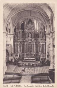 LA FLECHE, Sarthe, France, 1900-1910's; Le  Prytanee, Interieur De La Chapelle