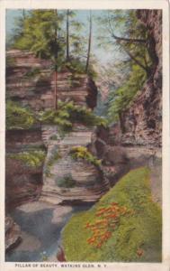 Pillar Of Beauty Watkins Glen New York Curteich
