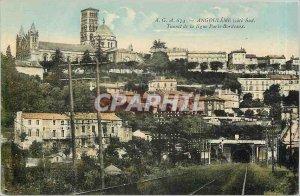 Old Postcard Angouleme south coast Tunnel the Paris Bordeaux