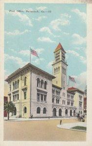 SAVANNAH , Georgia, 1900-10s ; Post Office