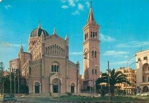 Tripoli Libya cathedral postcard