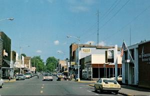 Wisconsin Ladysmith Main Street Scene