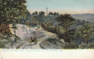 CHATTANOOGA, Tennessee, 1901-07 ; Gov. Boulevard , Missionary Ridge