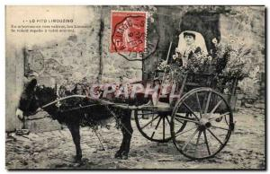 Old Postcard Lo Pito Limouzino In m & # 39envouyan to vautrel lou Limouzis Li...