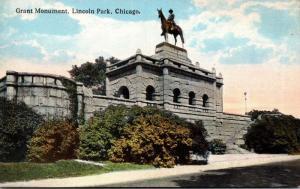 Illinois Chicago Lincoln Park Garfield Monument