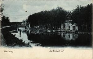 CPA VOORBURG De Wijkerbrug NETHERLANDS (602182)