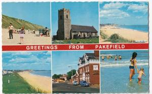 Suffolk; Pakefield Multiview PPC Unposted, By Constance