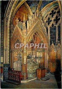 Postcard Moderne Saint Etienne du Mont Tomb (VI S) and Hunting (XIX S) Sainte...
