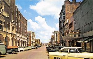 Fort Scott Kansas~Main Street~Fox Theater Cinemascope~Ghost Sign~1950s Cars