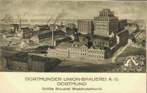 Germany Dortmunder Union Brauerei A. G. Dortmund Grosste Brauerei 03.85