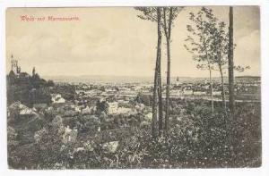 Wels mit Marienwarte, Austria, PU 1910