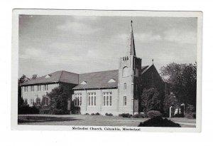 COLUMBIA , Mississippi , 1930s ; Methodist Church