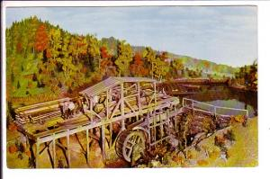 Modal up and Down Sawmill, Halifax, Nova Scotia Museum, Canada