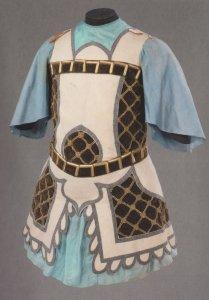 Leonide Massine Ballet Le Chant Du Rossignal Chinese Tunic Postcard